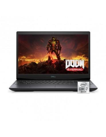 Dell G5 5500  i7-10750H-16GB-SSD 512GB-RTX2060-6GB-15.6 FHD 144Hz-Windows 10-Black