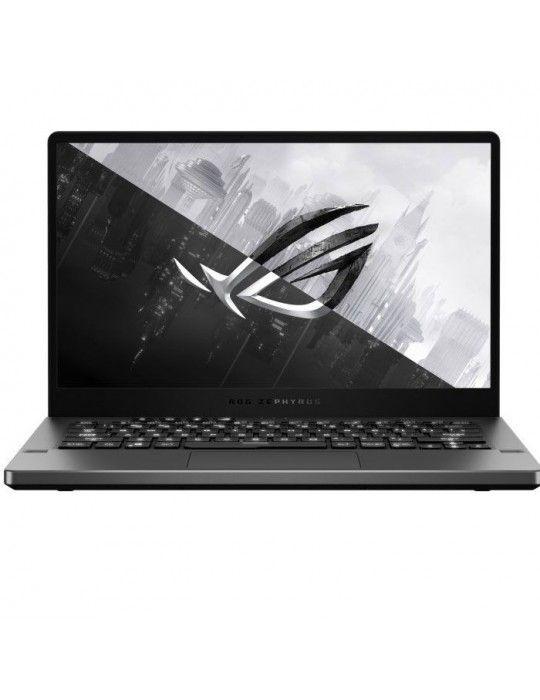 كمبيوتر محمول - ASUS ROG-Zephyrus GA401IV-HA181T-AMD R9-4900HS -8G,8G[ON BD]-1TB SSD-NVIDIA® GeForce® RTX™2060 6GB-14.0 WQHD-Wi
