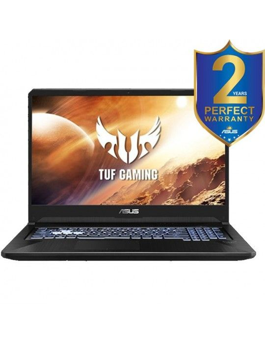 Laptop - ASUS TUF Gaming-FX505DT-BQ121T-AMD Ryzen™7 3750H-16GB-512GB SSD-NVIDIA®GeForce®GTX1650 4GB-15.6 FHD-Win10