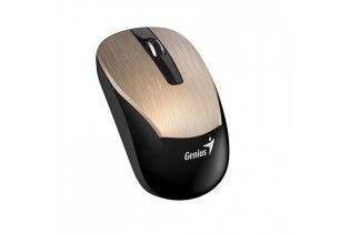 ماوس - Mouse+Earphone Genius Combo MH-8015 Gold
