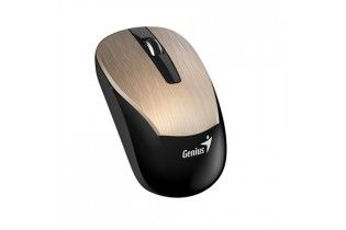Mouse - Mouse+Earphone Genius Combo MH-8015 Gold