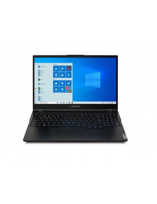 Laptop - Lenovo Legion 5 i7-10750H-16GB-1TB-SSD 256GB-RTX2060-6G-15.6 FHD-DOS-PHANTOM-BLACK