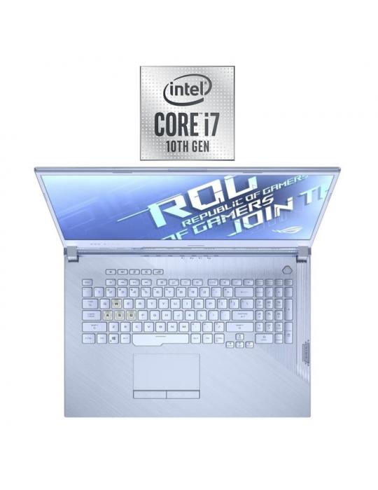 Laptop - ASUS ROG Strix G512LI-HN099T-ntel®Core™i7-10750H-16GB DDR4-512GB PCIE SSD-GTX™ 1650Ti-Win10-15.6 FHD