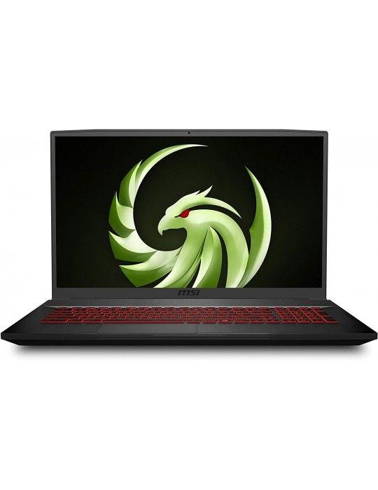كمبيوتر محمول - msi Bravo 17 A4DDR-AMD R7-4800H-16GB RAM-1TB 256 SSD-RX 5500M 4GB-win10-17.3 FHD