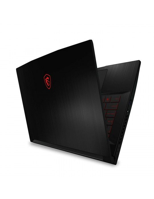 كمبيوتر محمول - msi GF63 Thin 10SCSR-Intel Core i7-10750H-16GB RAM-1TB 256 SSD-4GB GTX 1650 TI-DOS-15.6 FHD