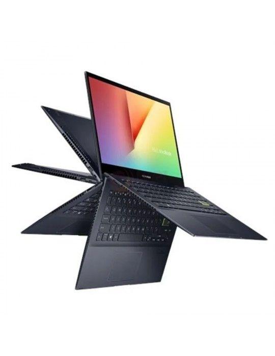 Laptop - ASUS VivoBook14 Flip TM420IA-EC055T AMD R3-4300U-8GB-SSD 256GB-AMD Radeon Graphics-14 FHD Touch-Win10-Black-Stylus pen