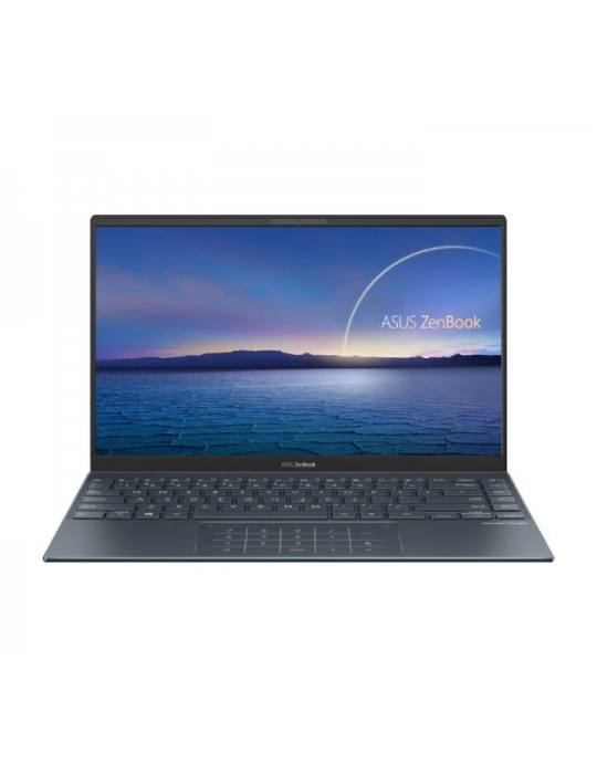 Laptop - ASUS Zenbook 14 UX425EA-BM010T I7-1165G7-16GB-1TB SSD-Intel Iris Xᵉ Graphics-14 FHD-Win10-PINE GREY-SLEEVE