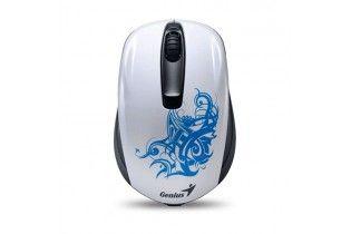 ماوس - Mouse Genius Wireless NX-6510 White Tattoo