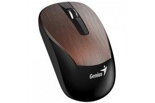 ماوس - Mouse+Earphone Genius Combo MH-8015 Coffee