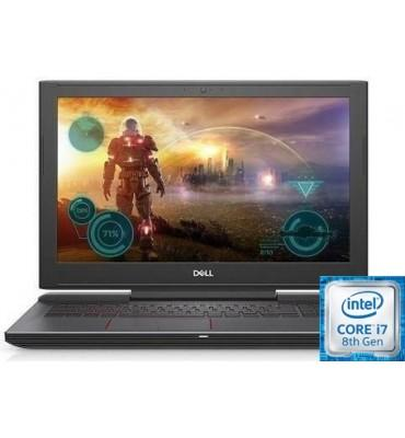"Dell Inspiron G 5-N 5587-15.6""-Intel Core i7-8750H-16GB RAM DDR4-SSD 256GB-1TB HDD-VGA Geforce GTX1050Ti-4GB DDR5-DOS"