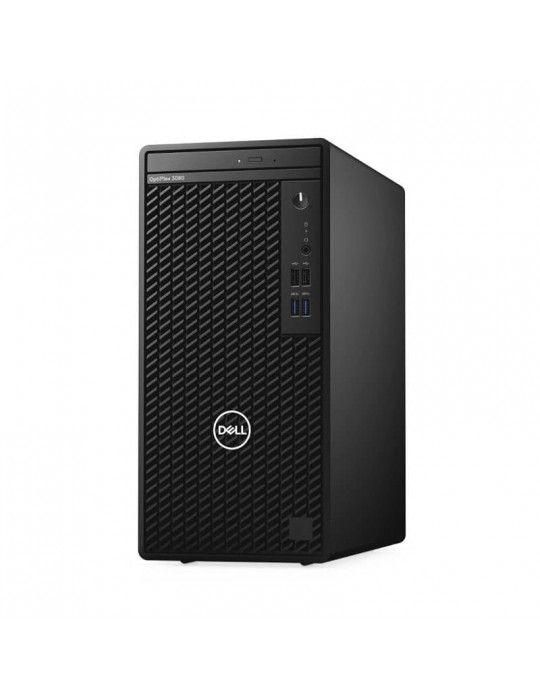 Desktop - Dell Optiplex 3080 i5-10400-4GB-1TB-Intel Graphics-Dos