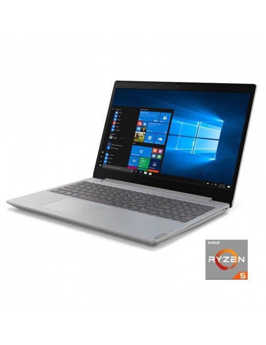 "كمبيوتر محمول - Lenovo Ideapad L340 AMD R5-3500U-4GB RAM-1TB-AMD Radeon Graphics-15.6""HD-Dos-Iron Grey"
