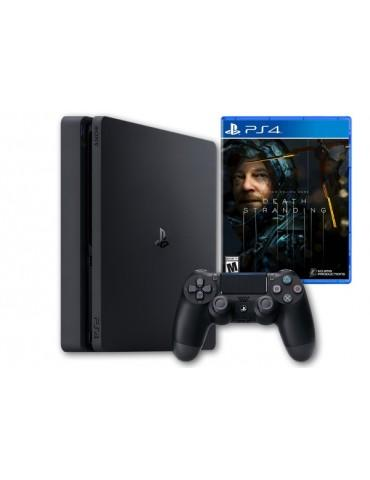 Sony PlayStation® 4 Slim 1TB-1 DUALSHOCK®4 Controller-Death Stranding Game-Official Warranty