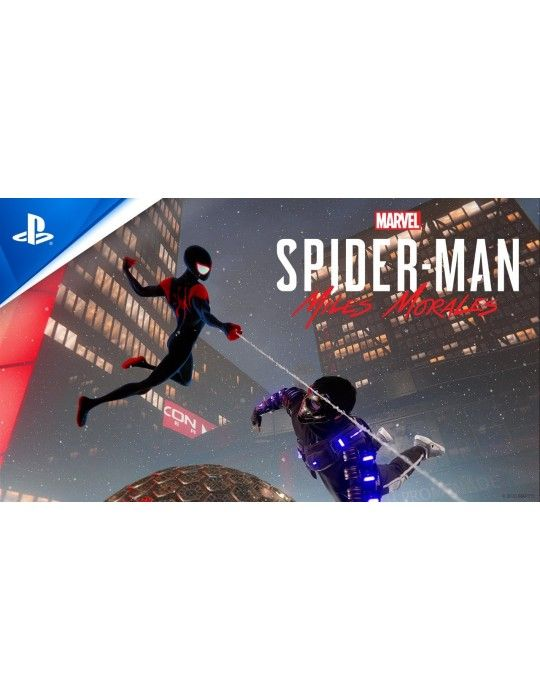 Gaming Accessories - Marvels Spider-Man Miles Morales PlayStation 4 DVD
