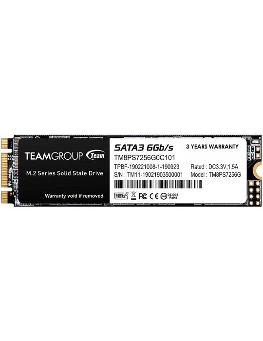 Hard Drive - SSD HDD TEAM 256GB M.2 MS30