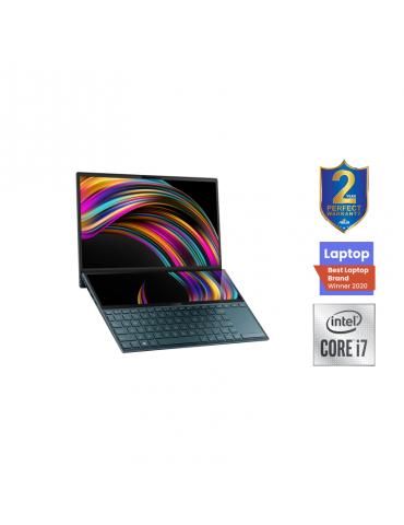 ASUS Zenbook Duo UX481FL-BM039T-i7-10510U-16G-1TB SSD-MX250-2G-14.0 FHD- Win10-Sleeve-Stylus pen