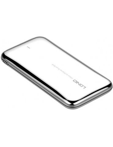 LDNIO PQ1017-Fast Charging Output and Input Power Bank-Stainless Steel-10000mAh