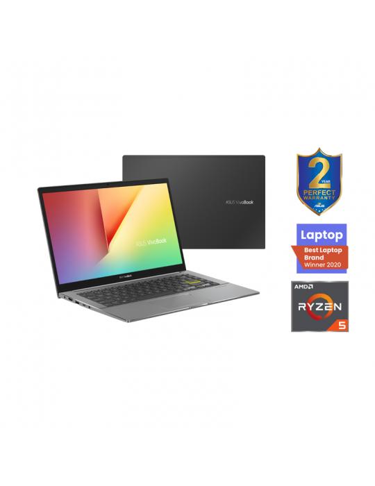 Laptop - ASUS VivoBook S14 M433IA-EB022T AMD R5-4500U-8GB-SSD 512GB-AMD Radeon Graphics-14 FHD-Win10-Black