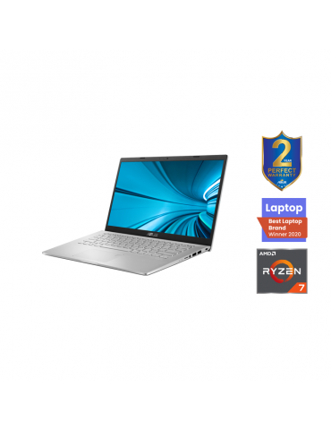 ASUS Laptop D509DJ-EJ090T AMD R7-3700U-8GB-SSD 512GB-MX230-2GB-15.6 FHD-Win10-TRANSPARENT SILVER