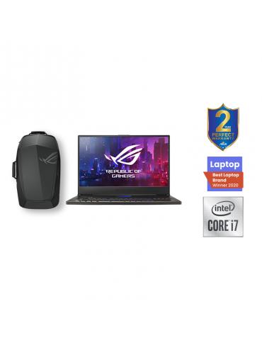 Asus ROG Zephyrus GX701LXS-HG027T i7-10750H-32GB-SSD 1TB-RTX2080S Max-Q-8GB-17.3 FHD-Win10-Metal Black