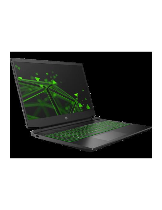 Laptop - HP Pavilion Gaming 15-ec1005ne AMD R7-4800H-16GB-1TB-SSD 256B-GTX1660Ti-6GB-15.6 FHD-DOS-Black