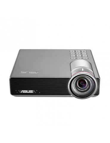 ASUS P3E Portable LED Projector-800 Lumens-WXGA (1280*800)-Short Throw-Auto Keystone-Instant On/Off