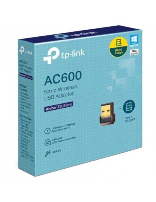 Networking - TP-LINK Wireless LAN AC600-Nano USB Archer T2U