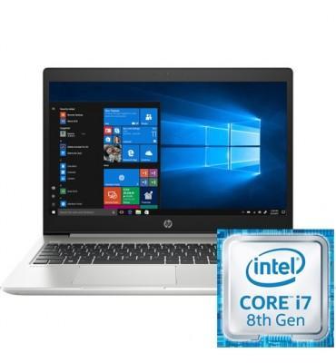 "HP ProBook 450 G5-15.6""-Intel Core i7-8550U-8GB RAM DDR4-HDD 1TB-VGA NVidia GT930MX-2GB-Dos-SILVER"