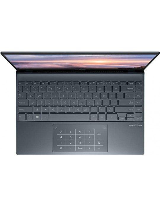 Laptop - ASUS Zenbook 13 UX325EA-KG235T i5-1135G7- 8GB-512G SSD-Intel Iris Xᵉ Graphics-13.3 OLED FHD-Win10-PINE GREY-SLEEVE