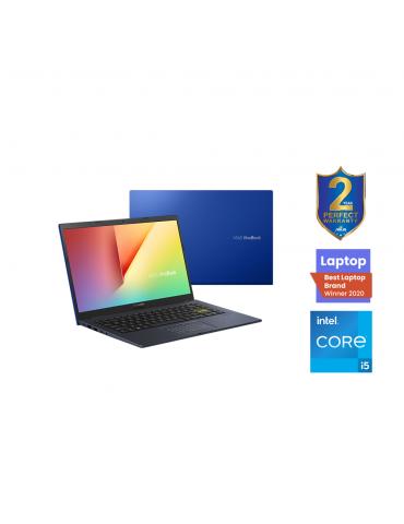 ASUS X413EP-EK002T I5-1135G7-8GB-SSD512G-NVIDIA® GeForce® MX330 2GB-14.0 FHD-Win10-COBALT BLUE