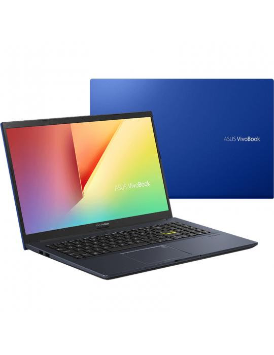 Laptop - ASUS X413EP-EK002T I5-1135G7-8GB-SSD512G-NVIDIA® GeForce® MX330 2GB-14.0 FHD-Win10-COBALT BLUE