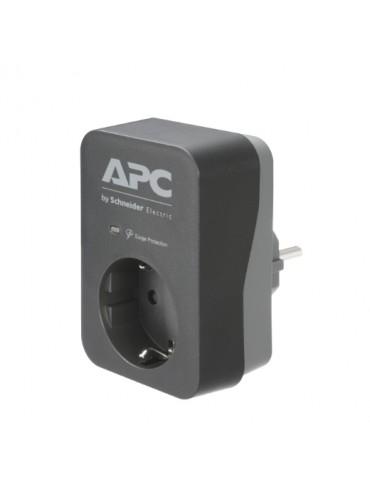 APC Essential SurgeArrest 1 Outlet-230V-Germany-Black