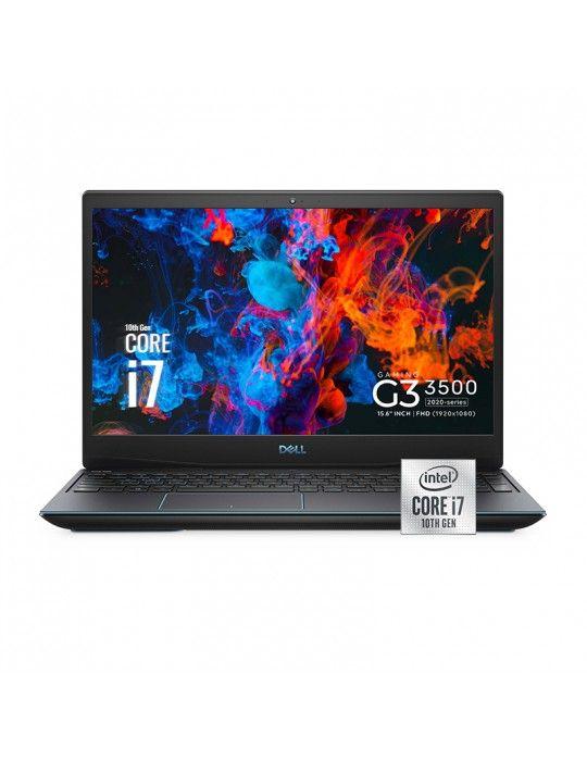 Laptop - Dell Inspiron G3-3500 i7-10750H-16GB-SSD512 GB-GTX1650 4G-15.6 FHD-Black