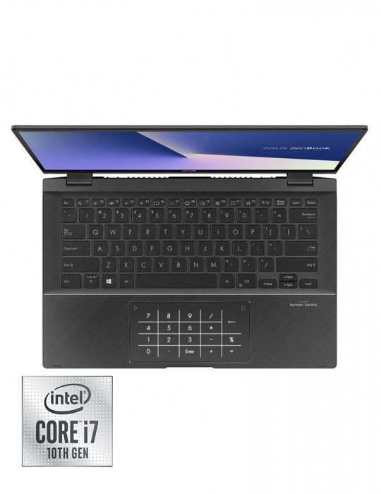 Laptop - ASUS ZenBook Flip UX463FL-AI014T i7-10510U-16GB-SSD 1TB-MX250-2GB-14 FHD Touch-Win10-Grey-Stylus pen free bundle