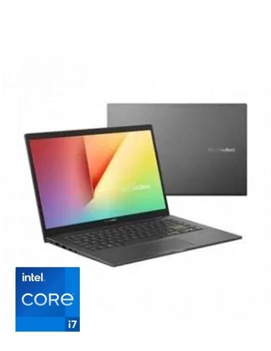 Home - ASUS K413EP-EB164T I7-1165G7-8GB-SSD512G-NVIDIA® GeForce® MX330 2GB-14.0 FHD-Win10-INDIE BLACK
