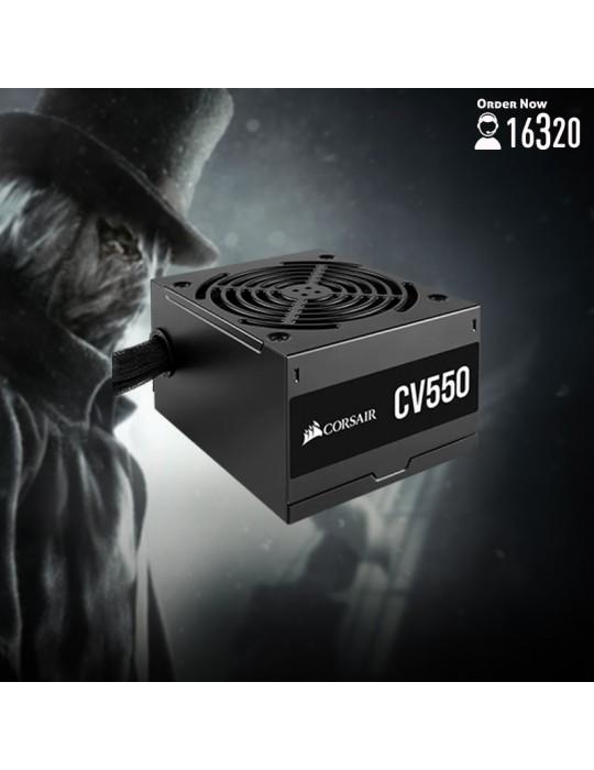 Gaming PC - Bundle Intel Core i5-10600-B460M DS3H V2-GTX 1660 OC 6GB-16GB-1TB HDD-256GB SSD-Case CORSAIR RGB-CV550 550W