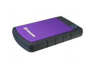 Hard Drive - Transcend StoreJet 25H3P 1TB External HDD-Purple