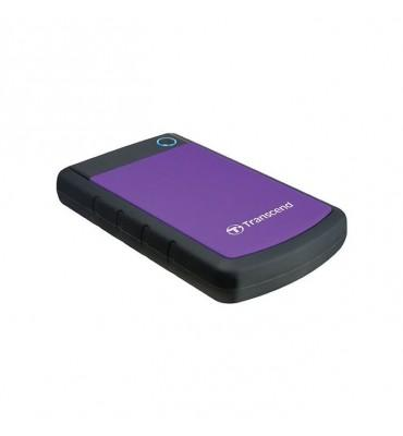 Transcend StoreJet 25H3P 2TB External HDD (Purple)