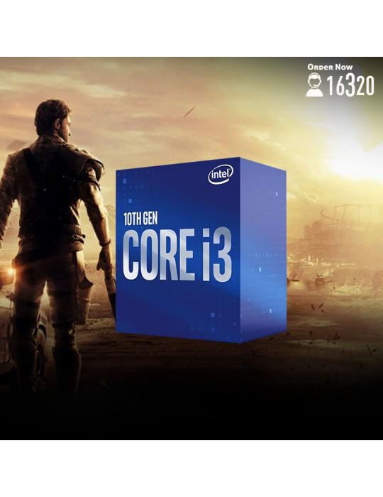 Gaming PC - Bundle Intel Core i3-10100-GIGABYTE H410M S2H-8GB-1TB HDD-Case XPG Starker ARGB Black-600W