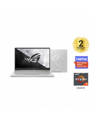 ASUS ROG Zephyrus G14 GA401QC-HZ112T AMD R7-5800HS-16GB RAM-512GB SSD-RTX 3050 4G-14 FHD 144Hz-Win10