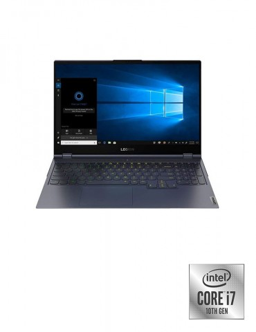 Lenovo Legion 7 i7-10870H-32GB-SSD 1TB-RTX2070-8GB Max-Q-15.6 FHD 144Hz-DOS-Slate Grey+Gaming Mouse+AVG