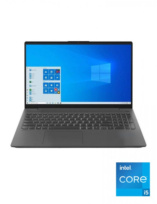 Laptop - Lenovo IdeaPad 5 Intel Core i5-1135G7-8GB-1TB-SSD 128GB-Intel Iris Xe Graphics-15.6 FHD-DOS