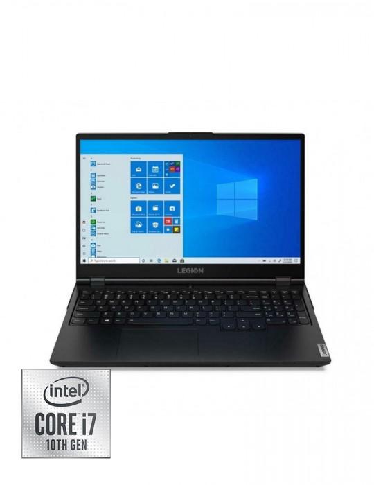 Laptop - Lenovo Legion 5 i7-10750H-16G-1TB-SSD 512GB-GTX1660Ti-6G-15.6 FHD-Win10-PHANTOM-BLACK+Gaming Mouse+AVG
