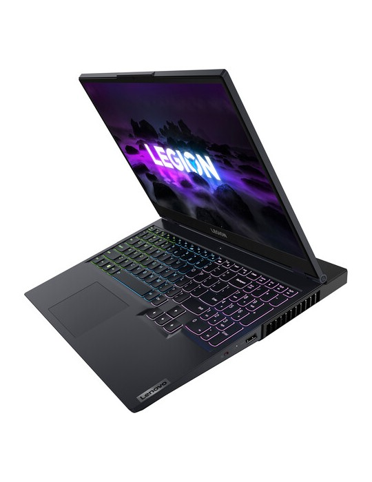 Laptop - Lenovo Legion 5 i7-11800H-16G-SSD 512GB-RTX3050Ti-4G-15.6 FHD-IPS 144Hz-DOS-Phantom Blue