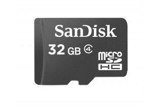 كروت ذاكرة - Micro SD SDHC SanDisk 32GB