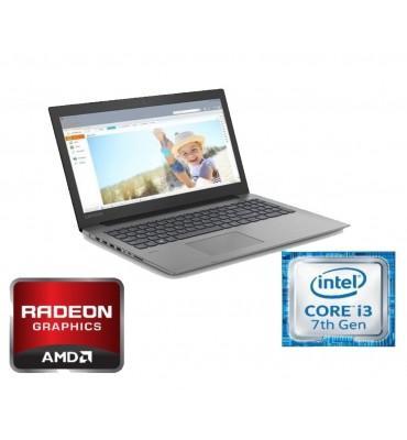 """Lenovo Ideapad 330-15.6""""-Intel Core i3-7020U 2.30 GHz-4GB RAM DDR-1TB HDD-VGA AMD Radeon 530-2GB-Free DOS-Onyx Black"""