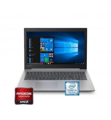 "Lenovo Ideapad 330-15.6""-Intel Core i3-7020U-4GB RAM DDR4-HDD 1TB-VGA AMD 530-2GB-Free DOS-Platinum Grey"