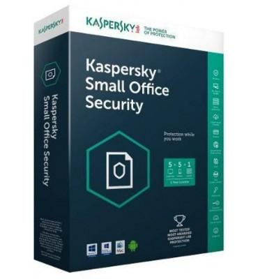 KasperSky small office security V5 -1 Server + 5 Users + 5 Mobiles / 1Year