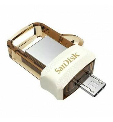 Flash Memory 32GB SanDisk-Ultra Dual Drive-OTG-GOLD