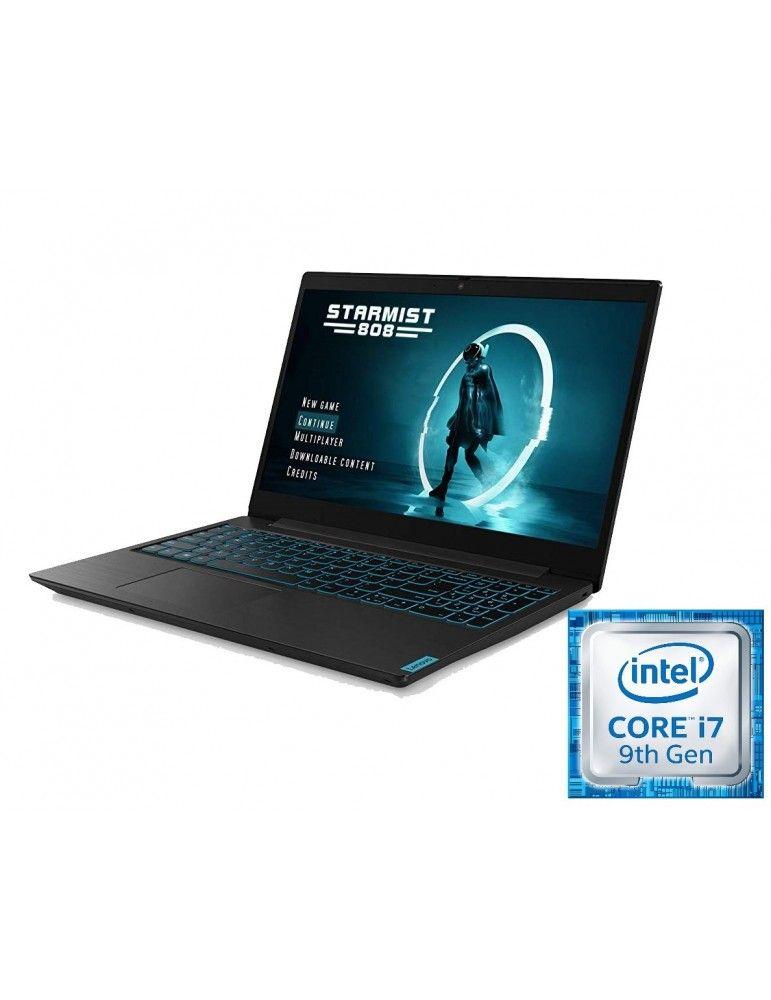 Lenovo Ideapad L 340-15.6-Intel Core i7-9750H-16GB RAM DDR4-1TB HDD-256GB SSD-VGA NVIDIA GTX 1650 4GB-DOS-Black